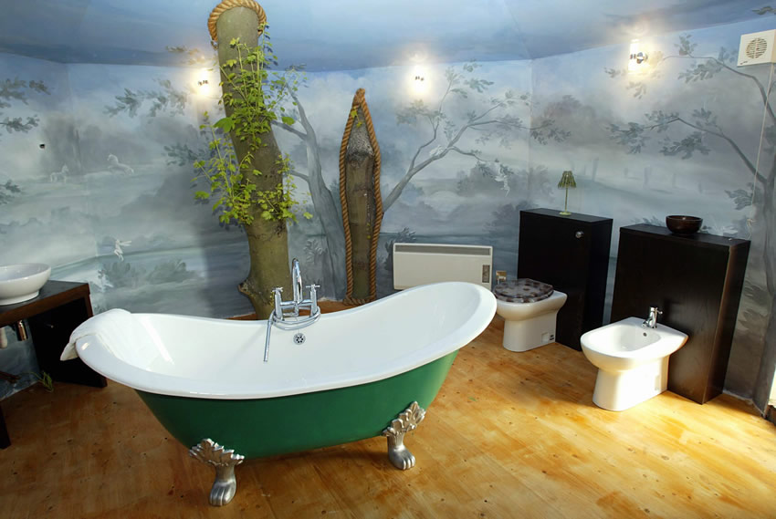 The Treehouse Bathroom