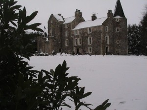Fernie Castle in Winter